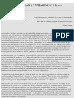 Bolívar Echeverría - 15 tesis sobre la Modernidad