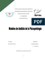 Act 1 Psicopatología II