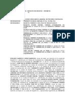 DEMANDA ORDINARIA LABORAL PRIMERA INSTANCIA - DESPIDPO