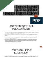 EL psicoanálisis y el humanismo en la educación.pptx