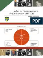 Nuevos Medios de Comunicación y de Entretención Chile