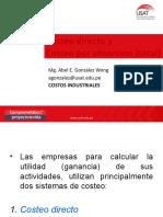 Costeo Directo y Total_USAT