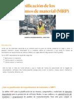 Planificacion de Requerimiento de Materiales (Mrp)