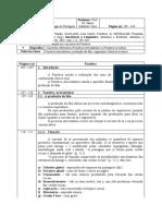 Fichamento 1 - Fonética e Fonologia do Português