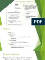 11. Regulación e incentivos económicos (1)