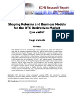 ECMI - Shaping Reforms and Business Models for the OTC Derivatives Market