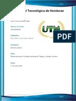 Diferencias entre el Contrato Individual de Trabajo y Contrato Colectivo