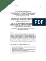 evaluacion de diferentes formulaciones de compostaje a partir de residuos de cosecha de tomate