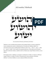 El origen oculto del nombre Yahshuah - El discípulo moderno - Medium.pdf