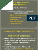 HERRAMIENTAS DE LA CALIDAD II