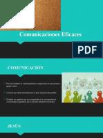 Comunicaciones Eficaces, CLASE 6