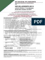 D-AVISO DEL EXAMEN DE ADMISION  2017-2
