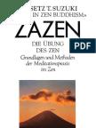 [eBook] Suzuki, Daisetz T. -- Zazen - Die Übung des Zen (O.W. Barth Verlag 1999, Buddhismus, Meditation, Mind, Spirit, german-deutsch)