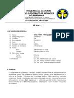 II Anatomía y Fisiología Humana II