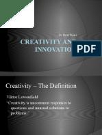 Creativity and Innovation - Copy