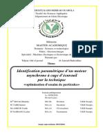 Identification paramétrique_MAS_PSO