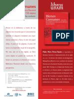 Bienes comunes 150 años de la Biblioteca Nacional de México ...