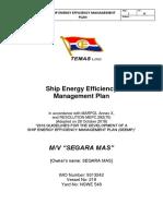 Ship Energy Efficiency Management Plan