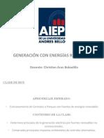 Clase #24 Generacion Con Energias Renovables AIEP 2020