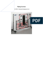 Piping Systems Lab Manual - 7903