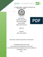 ANALISIS VOLUMETRICO DE SUKFATO DE COBRE # 6
