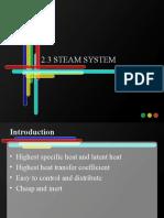 2.3 Steam s