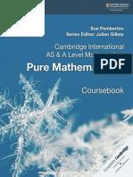 Pure Mathe Matics 1