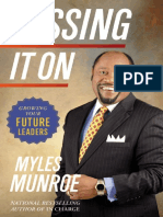 Passing It On Growing Your Future Leaders by Munroe Myles