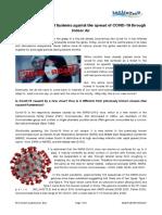 2020-01 - InviroTech- UVGI Effectiveness on COVID