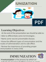 IMMUNIZATION (Health Education)