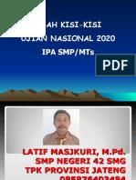 Bedah Skl Ipa Un 2020
