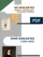DESCARTES - Reglas y método para el espíritu científico.ppt