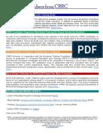 Issue 7 CRRC E-bulletin November 2012