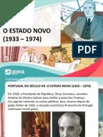 HGP PW Estado Novo, o 25 de abril de 1974 e a democratização de Portugal