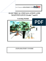ELECTRICAL INSTALLATION AND MAINTENANCE - Copy