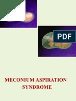 4 Meconium Aspiration Syndrome