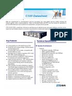 DATASHEET_ZTE_OLT_C320
