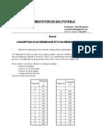devoir reservoir Epanet  aqueduc.doc