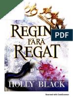 HOLLY BLACK-regina Fara Regat