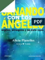 SANANDO CON LOS ANGELES - ALICIA PLANELLES