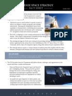 2020 Defense Space Strategy Factsheet
