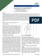 cf02ff2b8ef71aedd5ce3478616859c7.Water Pumping System using Windmill