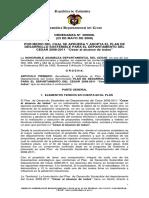 Plan de Desarrollo Dptal del Cesar 2008-2011