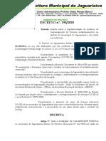 DECRETO Nº 195 - Regulamentacao Horarios Funcionamento_COVID