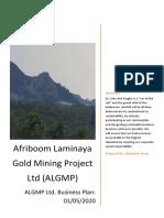 Afriboom Laminaya Gold Mining Project Ltd