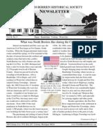 Winter 2010 Newsletter - North Berrien Historical Society