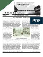Winter 2009 Newsletter - North Berrien Historical Society