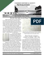 Summer 2010 Newsletter - North Berrien Historical Society