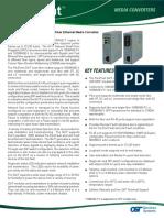 FlexPoint_GX-T_Media Converter Data Sheet