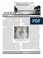 Fall 2010 Newsletter - North Berrien Historical Society
